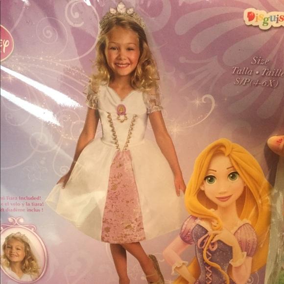 Disney Costumes Rapunzel Wedding Dress Poshmark